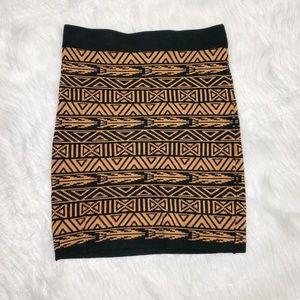PreLoved F21 Mini Tribal Tube Skirt